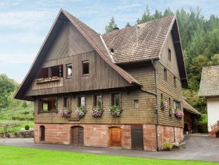 In a small valley situated, typical Black forest house