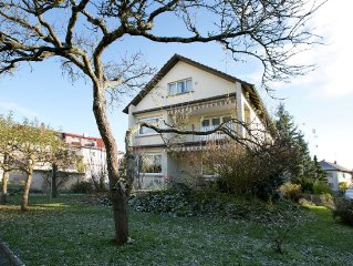 House in sunny location with magnificent view near the famous Lake Constance