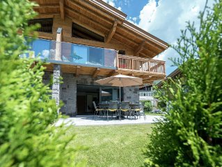 Luxuriously decorated apartment with wellness nearby Kaprun and Zell am See.