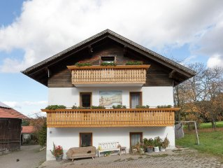 5-person holiday apartment in the Bavarian Forest