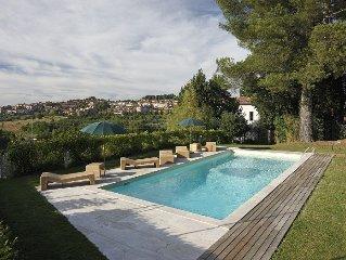 Modern villa in Siena