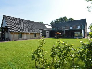 Magnificent farm for 12 people in vintage style in forested surroundings