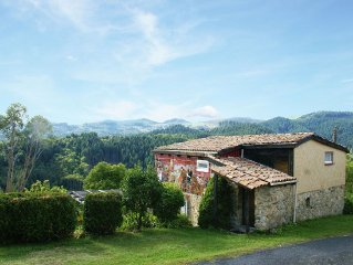 Detached holiday home (120 m2) in a beautiful location and with a breathtaking