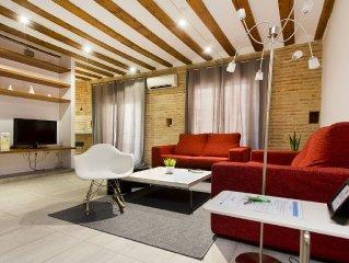 Total Valencia Elegance 1 habitación - Apartamento para 4 personas en Valencia c