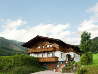 A large, detached chalet for twenty people in Flachau.