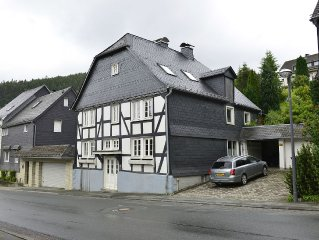 Very comfortable and modern house only a few kilometres from Winterberg.