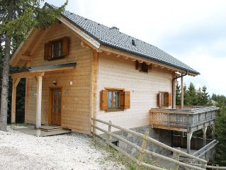 Luxury detached chalet with inhouse wellness in skiresort Koralpe