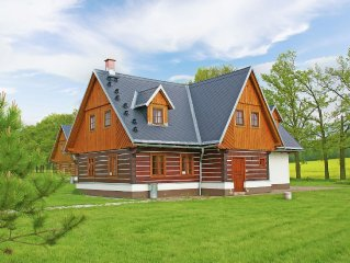 Characteristic and comfortable house with sauna in the beautiful area of Vrch