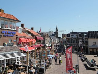 Apartment with shared terrace at 100 m distance from the beach of Egmond aan Zee