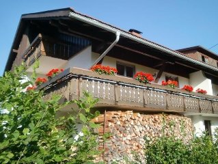Rest and relaxation in the beautiful Allgäu - holiday home with balcony