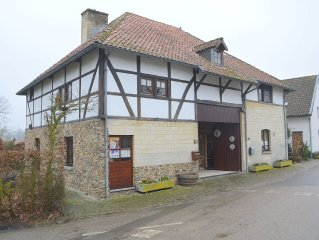 Charming half-timbered house, quietly located with private garden near Maastric