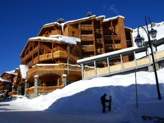 Nice apartments with spa in the centre of Val Thorens
