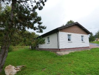 Detached holiday home for up to 7 people in Fichtelberg