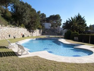 SES BRISES Apartments located  400 meters from the beach,  in a quiet area very