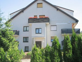 Large apartment in the Harz with balcony and garden use.
