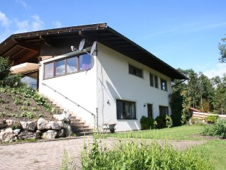 A detached house with plenty of privacy near Westendorf and Hopfgarten.