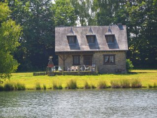 Open house, located on a large private property with private lake.