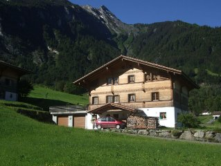 Holiday home in beautiful location on the ground floor with private terrace