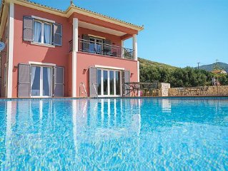 Ideally located villa with a pool and modern entertainment options, close to at