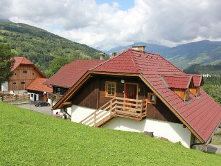 Detached house on a farm not far from the lake of Millstatt