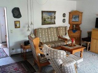 Ferienwohnung mit 70 qm, 2 Schlafzimmer fur max. 4 Personen