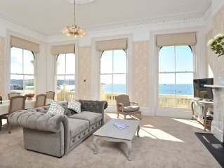 No 4 1 Elliot Terrace Luxury large designer apartment with stunning sea views o