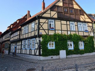 Holiday home in medieval Quedlinburg.