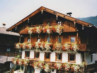 Beautiful apartment with lots of privacy in the middle of Alpbach