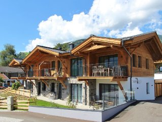 Atmospheric and spacious apartment nearby Kaprun, with wellness.