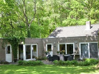 lovely house located in a private natural area of 9000m2 with private pool