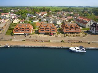 Top location right on the marina. Amazing views of the Baltic Sea. sauna