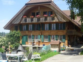 Holiday Uttigen for 4 people with 2 rooms - farmhouse