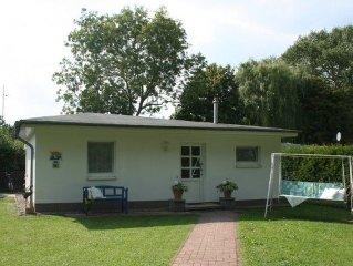 Zwei-Raum-Ferienhaus (43m2, 1-2 Pers. + 1 Aufb.) - Ferienhaus Boomgaarden