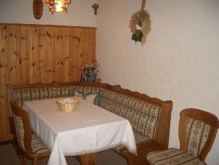 Ferienwohnung Sonnenwinkel mit 53qm, 1 Schlafzimmer, 1 Wohn-/Schlafraum, max. 5
