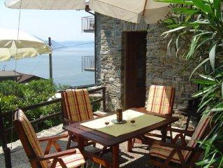 Maisonetteartige Wohnung Ribolla im Weinberggehoft Casa Rina mit Pool