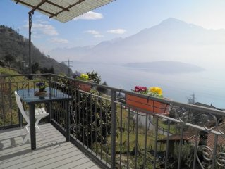 Holiday house Casa Giusi with stunning views of Lake Como