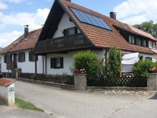 Ferienwohnung Gunzenhausen fur 4 - 5 Personen mit 2 Schlafzimmern - Ferienwohnun