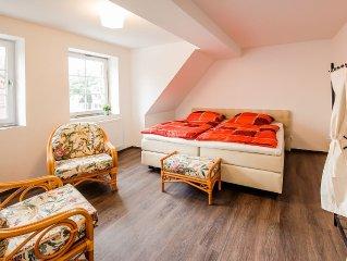 Doppelzimmer 6 (27 qm, 2 Pers.) - Hansequartier - Backsteinhaus am Park F 802