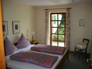 Ferienwohnung Talblick mit ca. 80qm, 2 Schlafzimmer für maximal 4 Personen