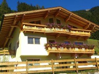 Ferienwohnung Mayrhofen für 4 - 6 Personen mit 2 Schlafzimmern - Ferienwohnung
