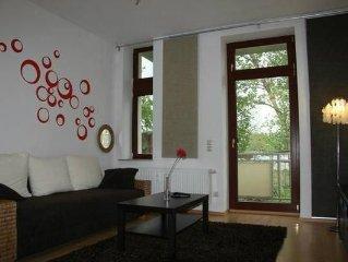 Ferienwohnung Dresden fur 3 - 4 Personen mit 1 Schlafzimmer - Ferienwohnung
