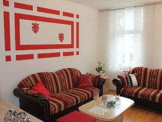 2-Raum-Ferienwohnung mit Balkon für 2 Personen (45 qm) - City Wohnung in Rostock