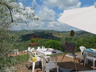 Ferienwohnung Castellina in Chianti fur 6 Personen mit 3 Schlafzimmern - Ferienw