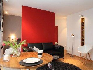 1,5 Zimmer Wohnung, ca. 35qm für max. 2 Personen - City-Appartement 'Am Bach'