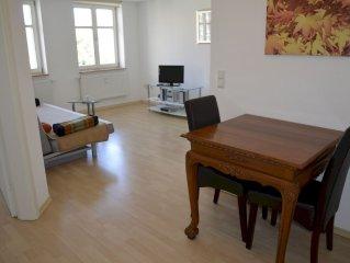 Ferienwohnung 14, mit ca. 44qm, 1 Schlafzimmer, 1 Wohn-/Schlafzimmer, für maxim