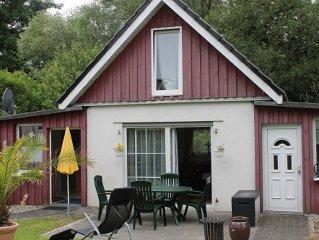 Zwei - Raum - Ferienhaus - Seenahe Ferienunterkunfte  direkt an der Seepromenade