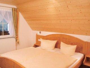 Ferienwohnung 2  'Abendsonne' mit ca. 65qm, 2 Schlafzimmer, fur max. 4 Personen