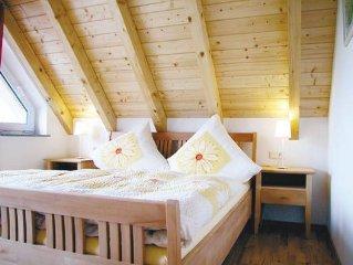 Ferienwohnung Typ D 5 mit 90qm, 3 Schlafräume für maximal 6 Personen