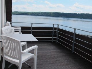 Ferienwohnung, 90 qm, 2 Schlafzimmer, max. 4 Personen-Balkon