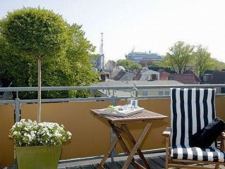 . # 5: Two-room apartment with large roof terrace - Pension Arielle F 180